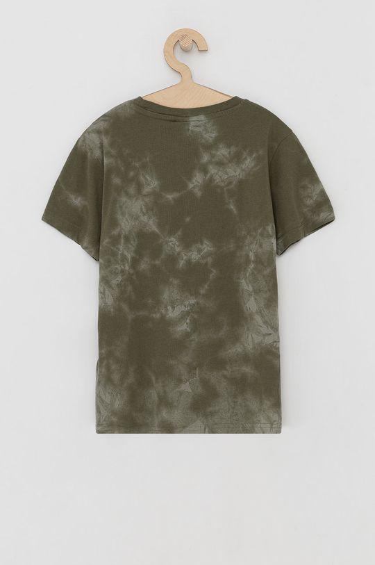 Champion - T-shirt bawełniany dziecięcy zielony