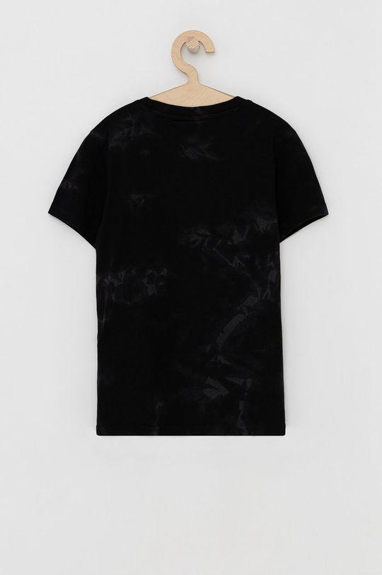 Champion - T-shirt bawełniany dziecięcy czarny
