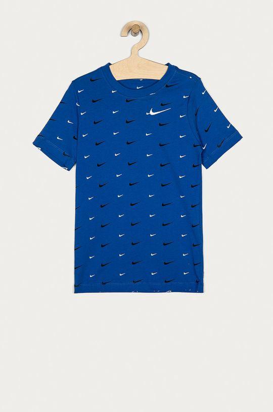 modrá Nike Kids - Detské tričko 128-170 cm Chlapčenský