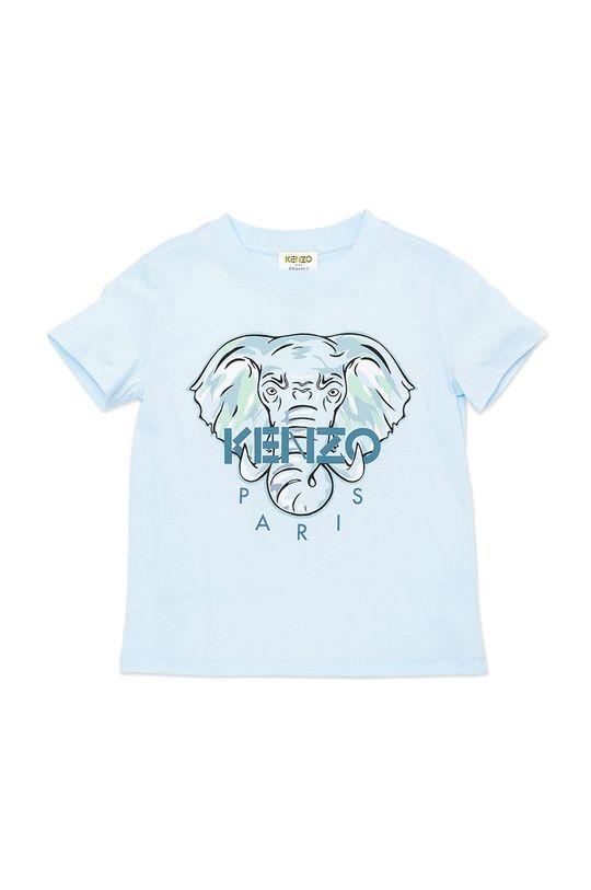 blady niebieski KENZO KIDS - T-shirt dziecięcy Chłopięcy