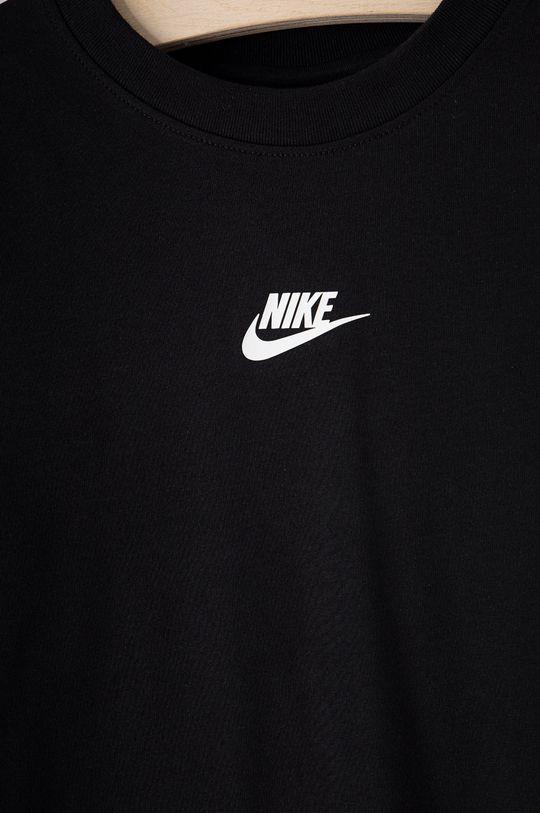 Nike Kids - T-shirt dziecięcy czarny