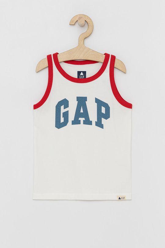 biały GAP - T-shirt dziecięcy Chłopięcy
