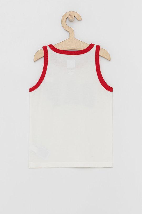 GAP - T-shirt dziecięcy biały