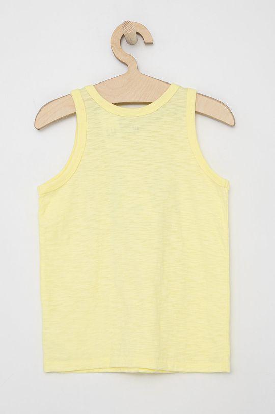 GAP - Dětský top jasně žlutá