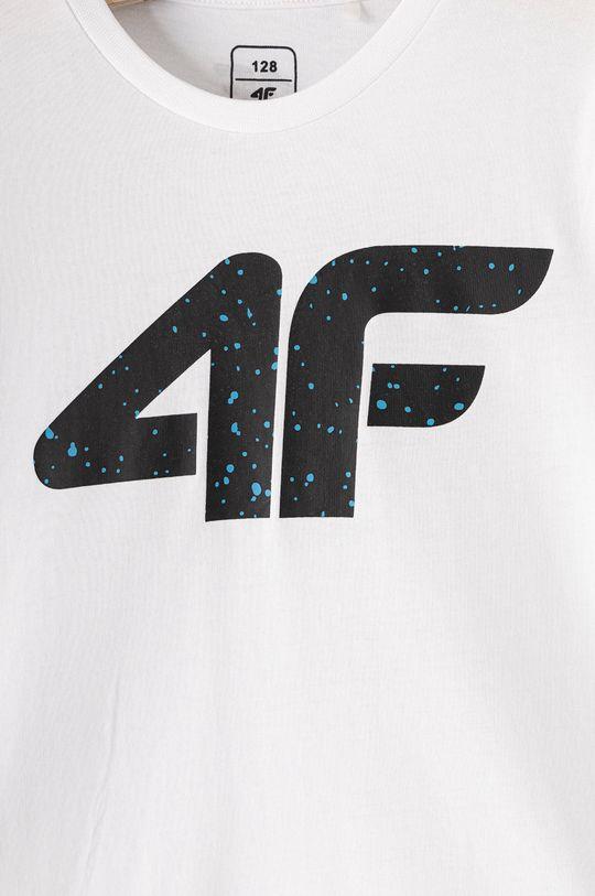 4F - T-shirt dziecięcy 122-164 cm 100 % Bawełna