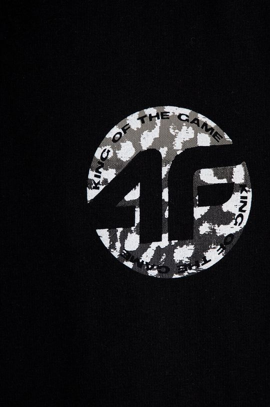 4F - T-shirt dziecięcy czarny