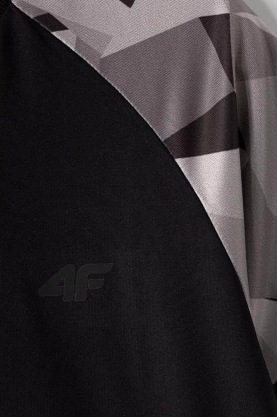 4F - T-shirt dziecięcy 122-164 cm 12 % Elastan, 88 % Poliester
