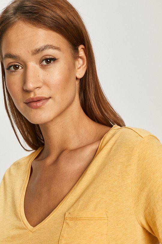 żółty G-Star Raw - T-shirt
