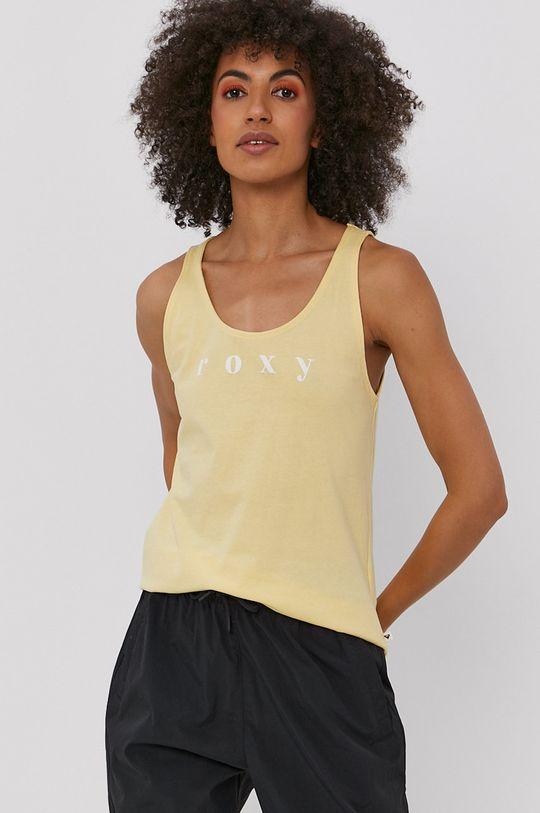 jasny żółty Roxy - Top