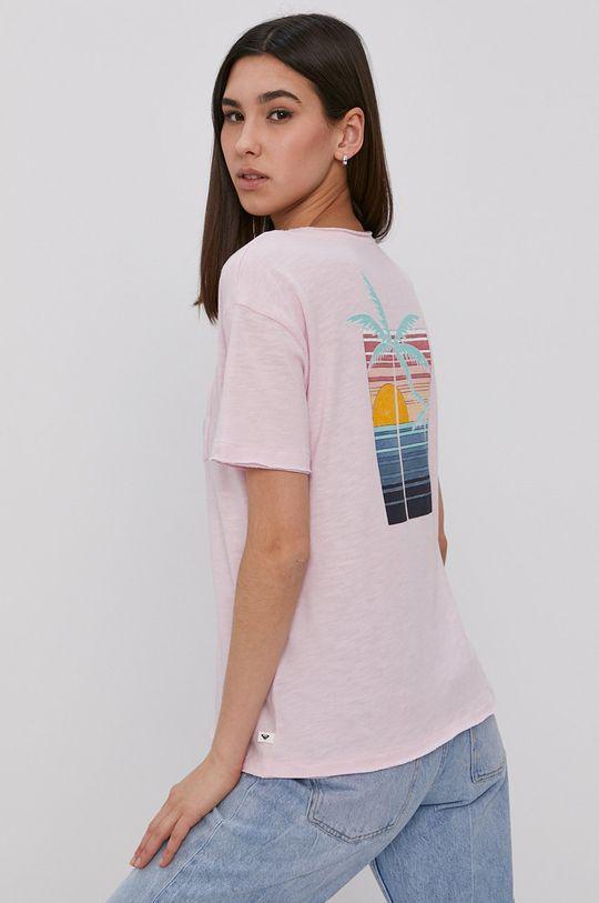 ostry różowy Roxy - T-shirt Damski