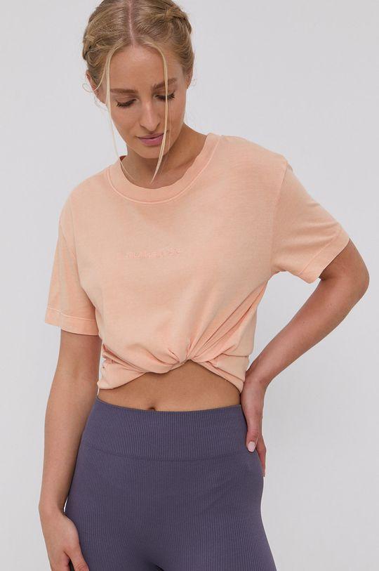 brzoskwiniowy Quiksilver - T-shirt Damski
