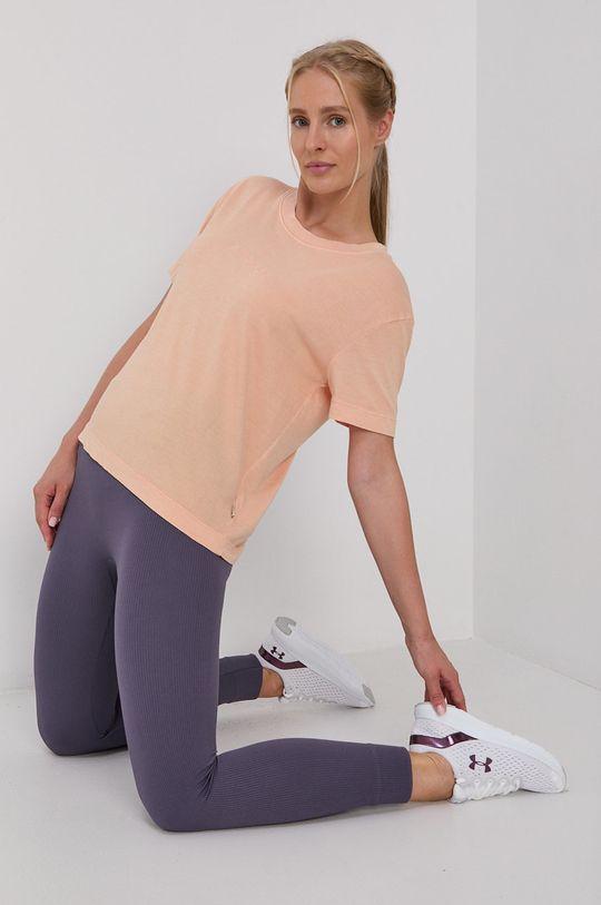 Quiksilver - T-shirt brzoskwiniowy