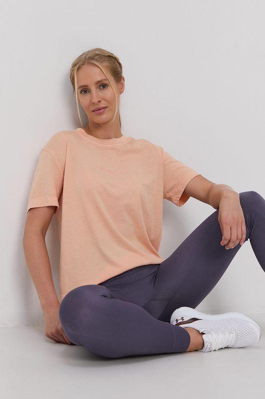 brzoskwiniowy Quiksilver - T-shirt