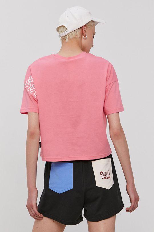 Puma - T-shirt x Mr Doodle Materiał zasadniczy: 100 % Bawełna, Ściągacz: 96 % Bawełna, 4 % Elastan