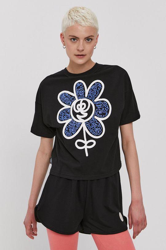 czarny Puma - T-shirt x Mr Doodle Damski
