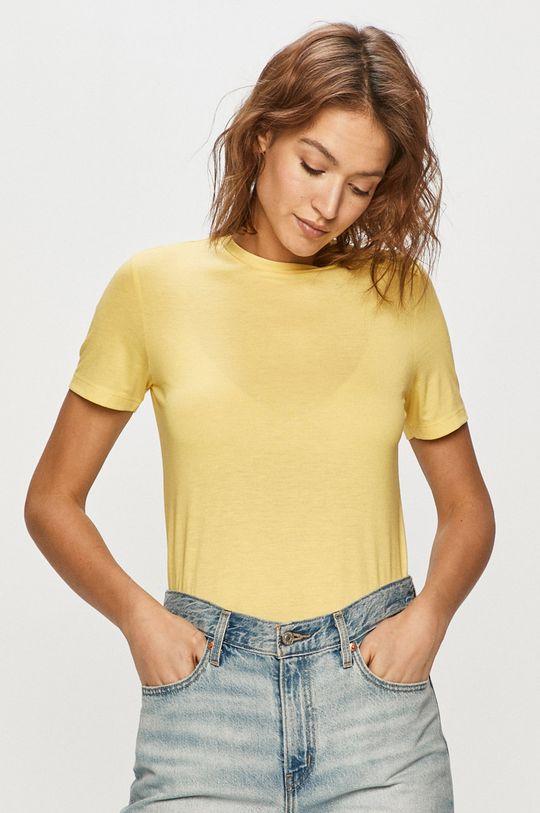 jasně žlutá Jacqueline de Yong - Tričko Dámský