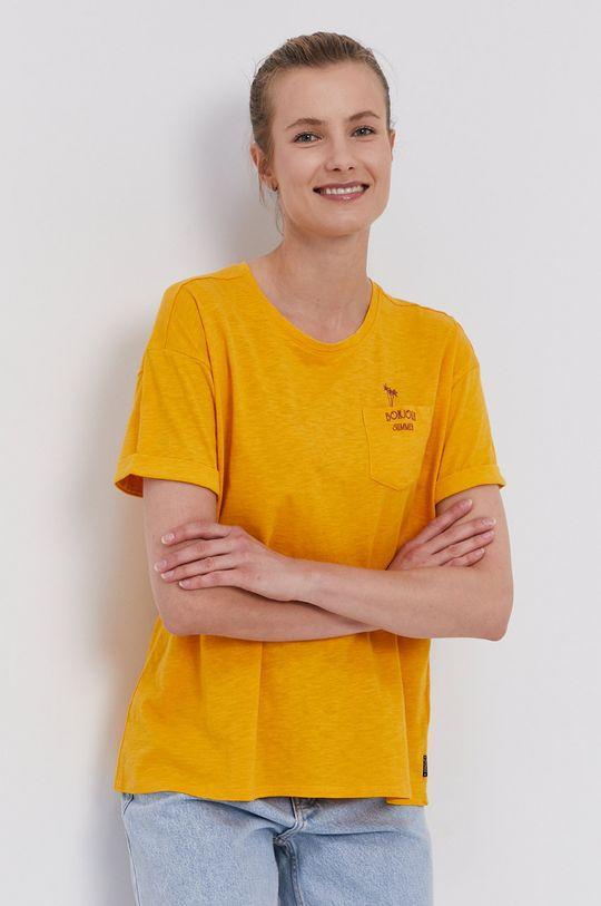 pomarańczowy Protest - T-shirt Damski