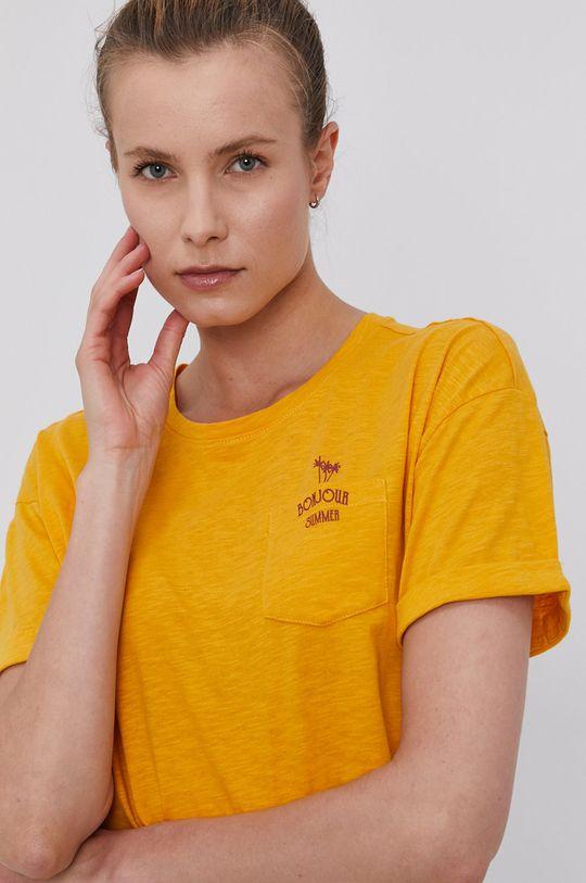 pomarańczowy Protest - T-shirt
