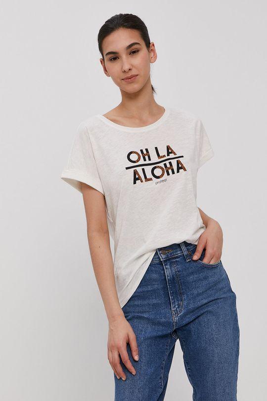 bílá Protest - Tričko Dámský