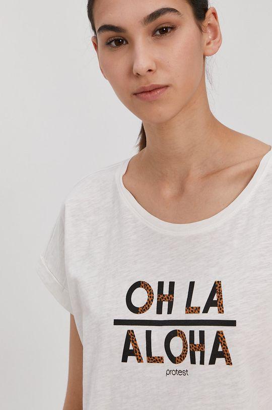 bílá Protest - Tričko