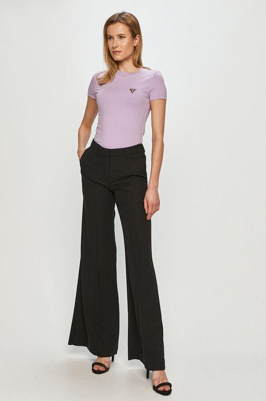 Guess - Tricou lavanda