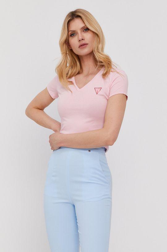růžová Guess - Tričko Dámský