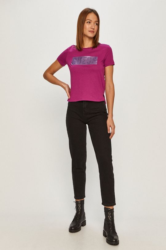 Guess - T-shirt winogronowy