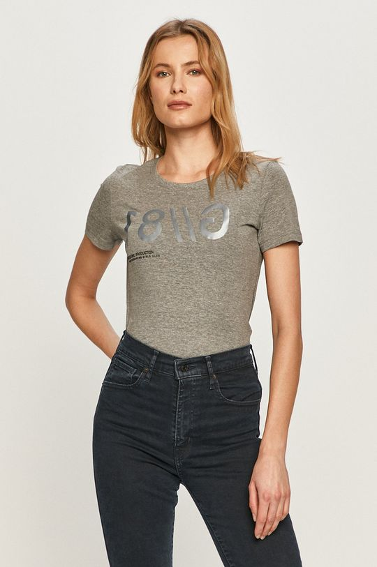 szary Guess - T-shirt Damski