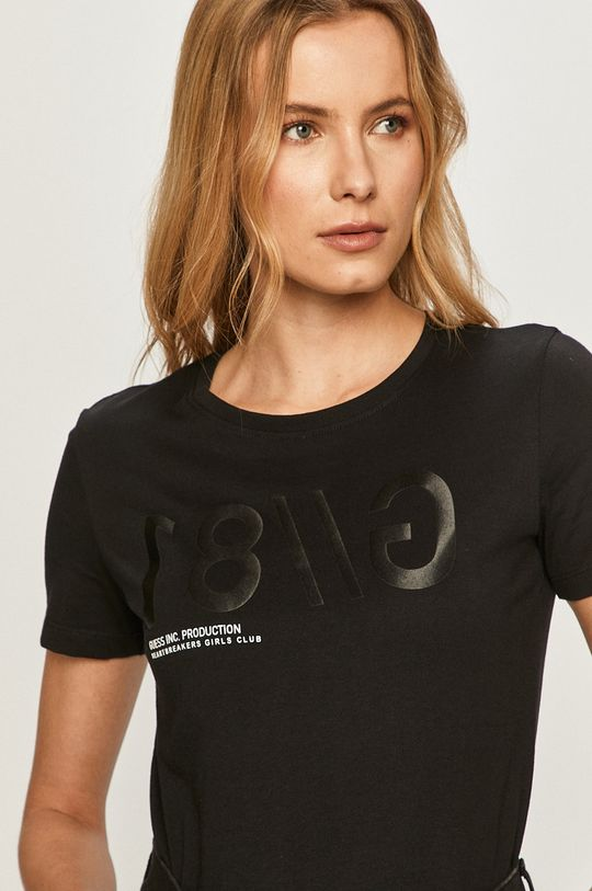 czarny Guess - T-shirt