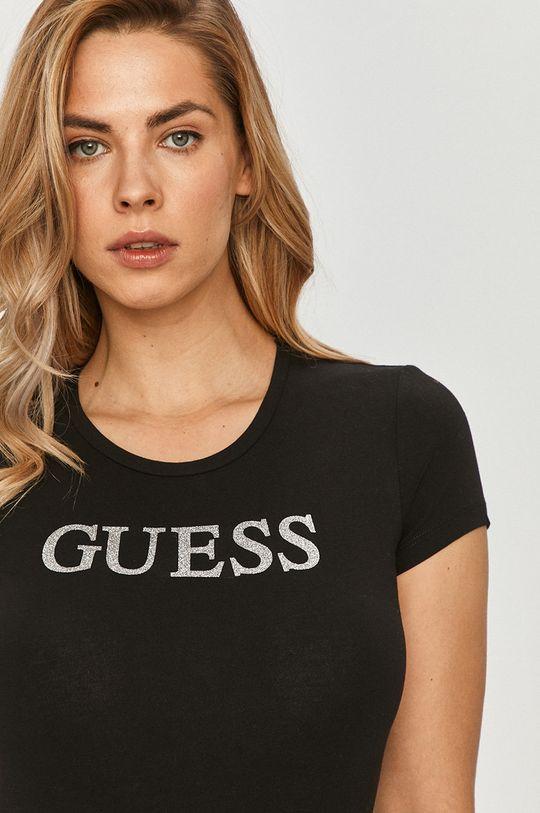 čierna Guess - Tričko