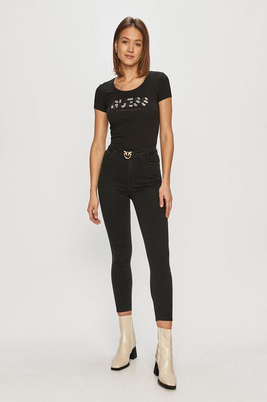 Guess - Tricou negru