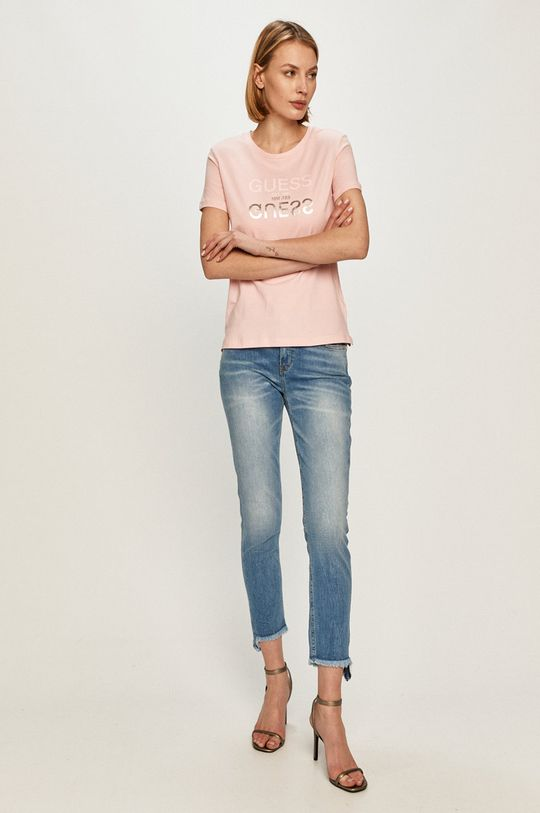 Guess - Tričko růžová
