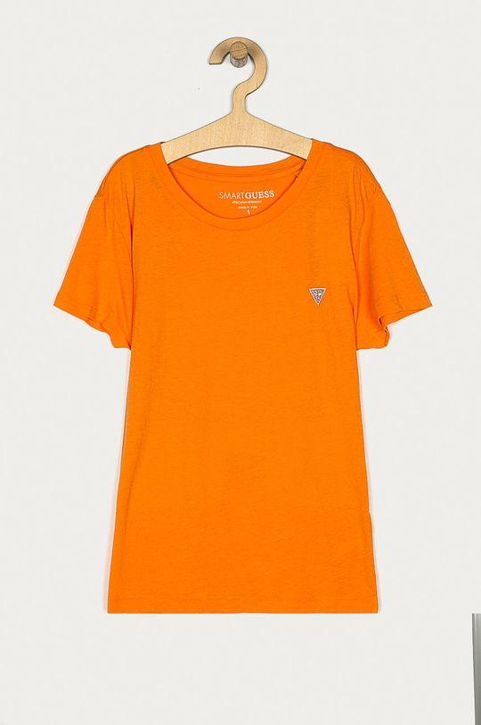 pomarańczowy Guess - T-shirt Damski