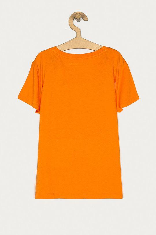 Guess - T-shirt pomarańczowy