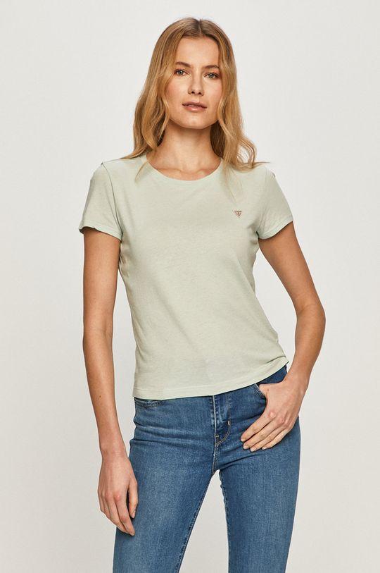 miętowy Guess - T-shirt Damski