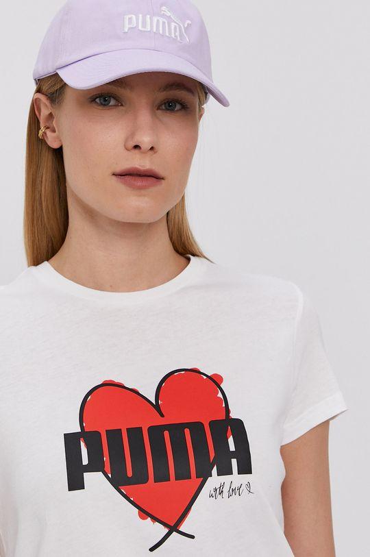 bílá Puma - Tričko