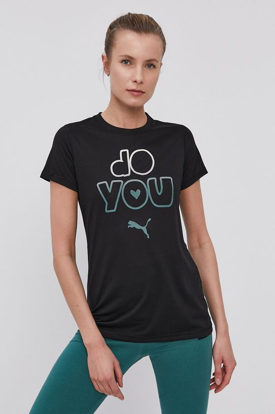 czarny Puma - T-shirt