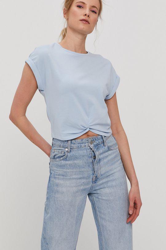 Only - T-shirt jasny niebieski