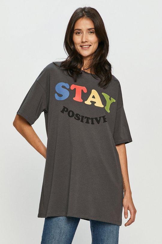 szary Only - T-shirt Damski