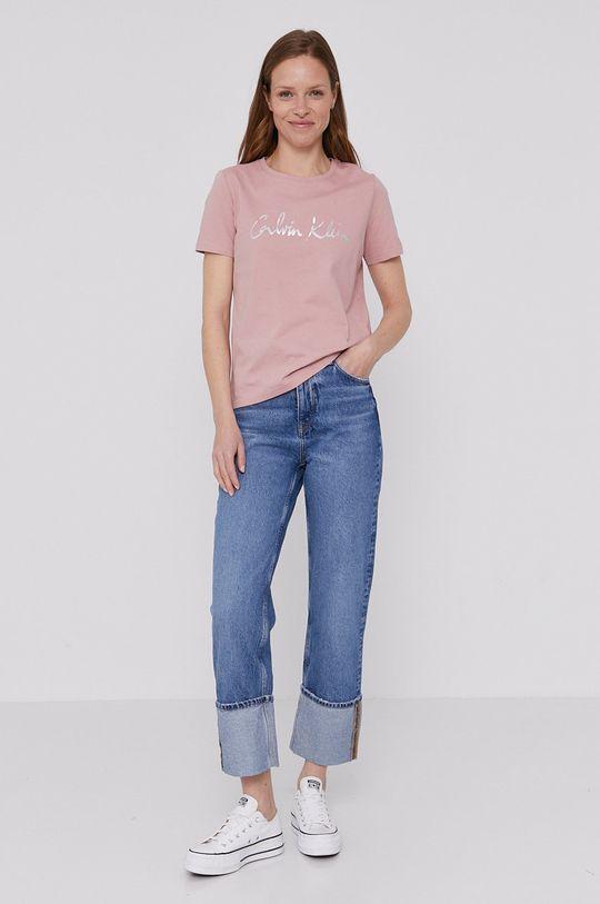 Calvin Klein - Tričko ružová