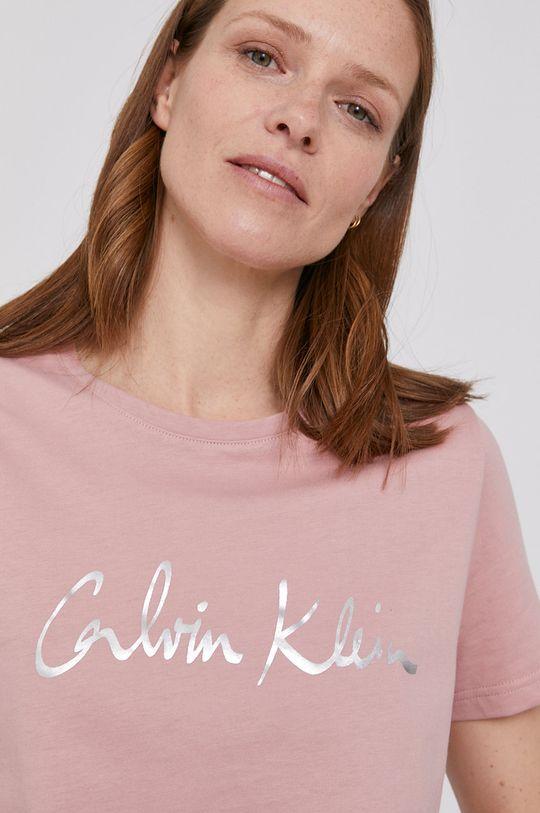 ružová Calvin Klein - Tričko