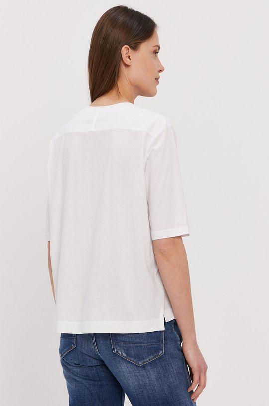 Calvin Klein - T-shirt 47 % Bawełna, 53 % Modal