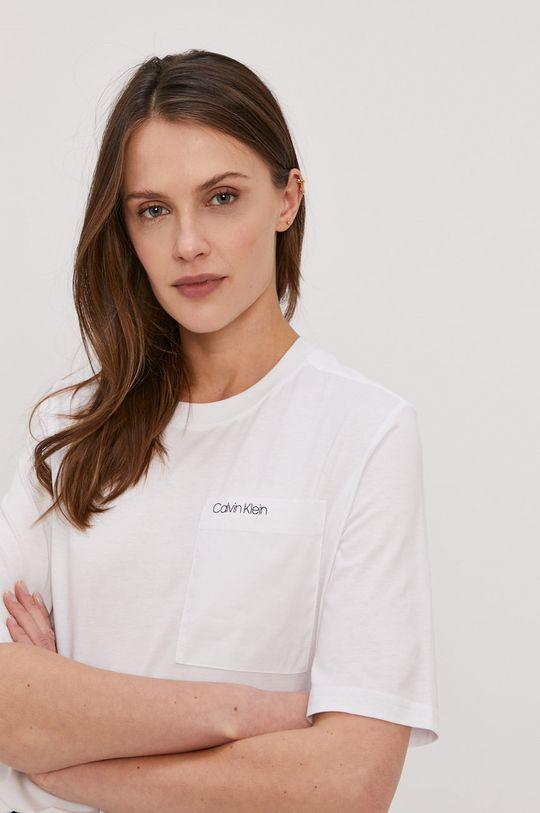 biały Calvin Klein - T-shirt