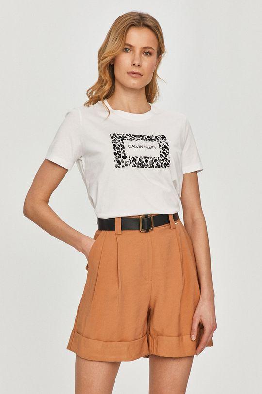 alb Calvin Klein - Tricou De femei