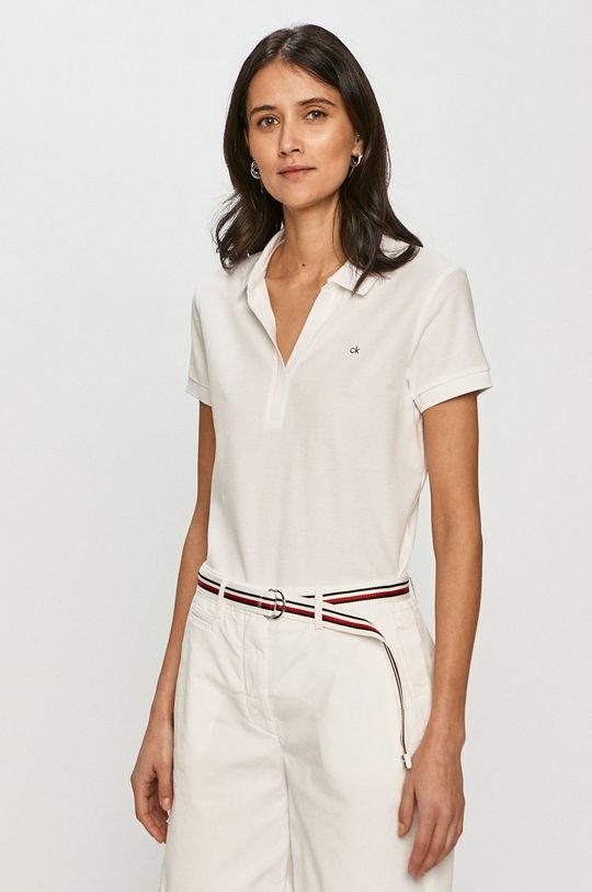 biela Calvin Klein - Polo tričko Dámsky