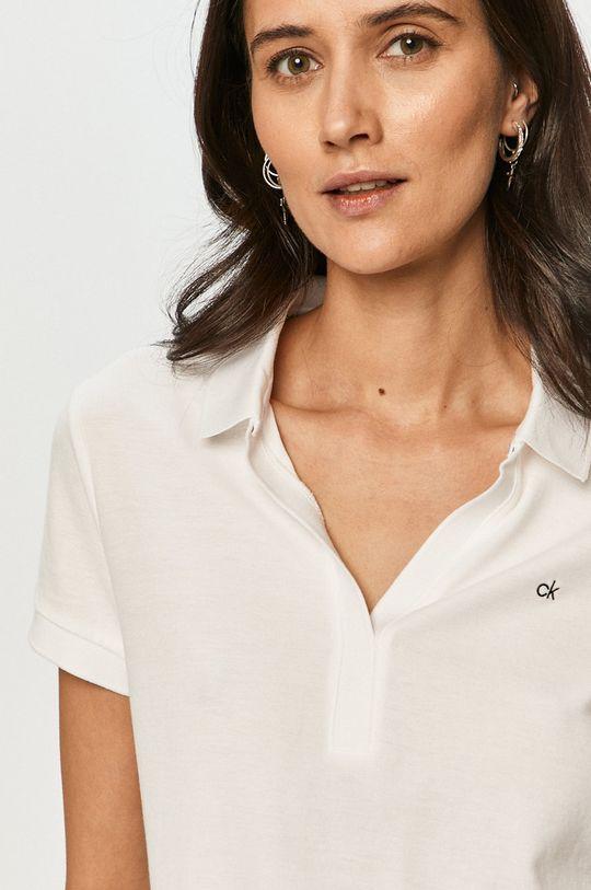biela Calvin Klein - Polo tričko
