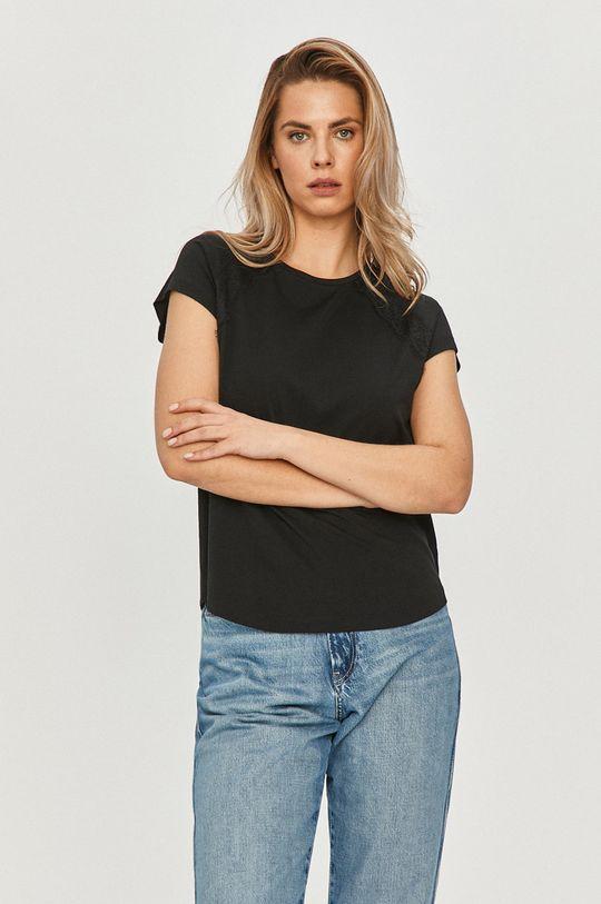 čierna Calvin Klein - Tričko Dámsky