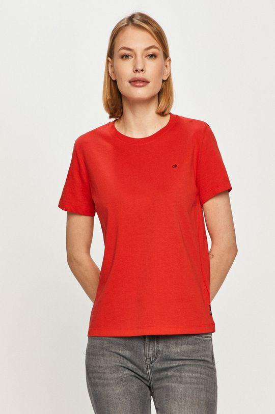 červená Calvin Klein - Tričko Dámský