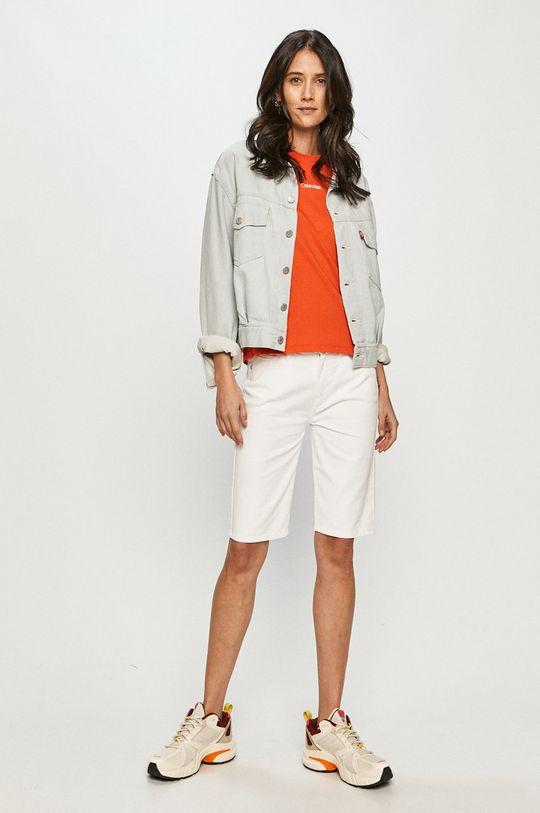Calvin Klein - Tričko oranžová