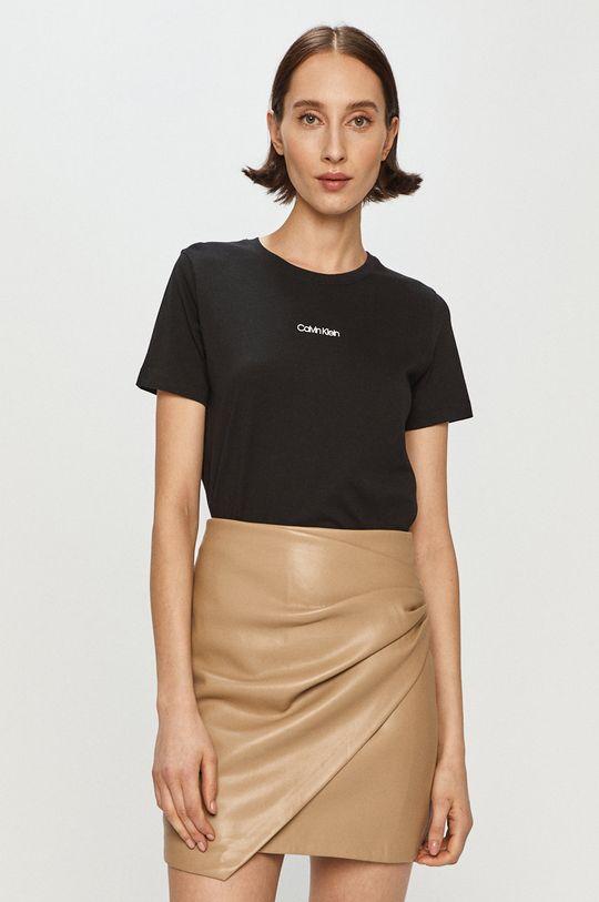 czarny Calvin Klein - T-shirt Damski